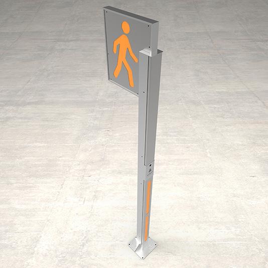 Pedestrian B