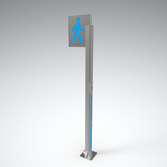 Baliza Peatones Pedestrian