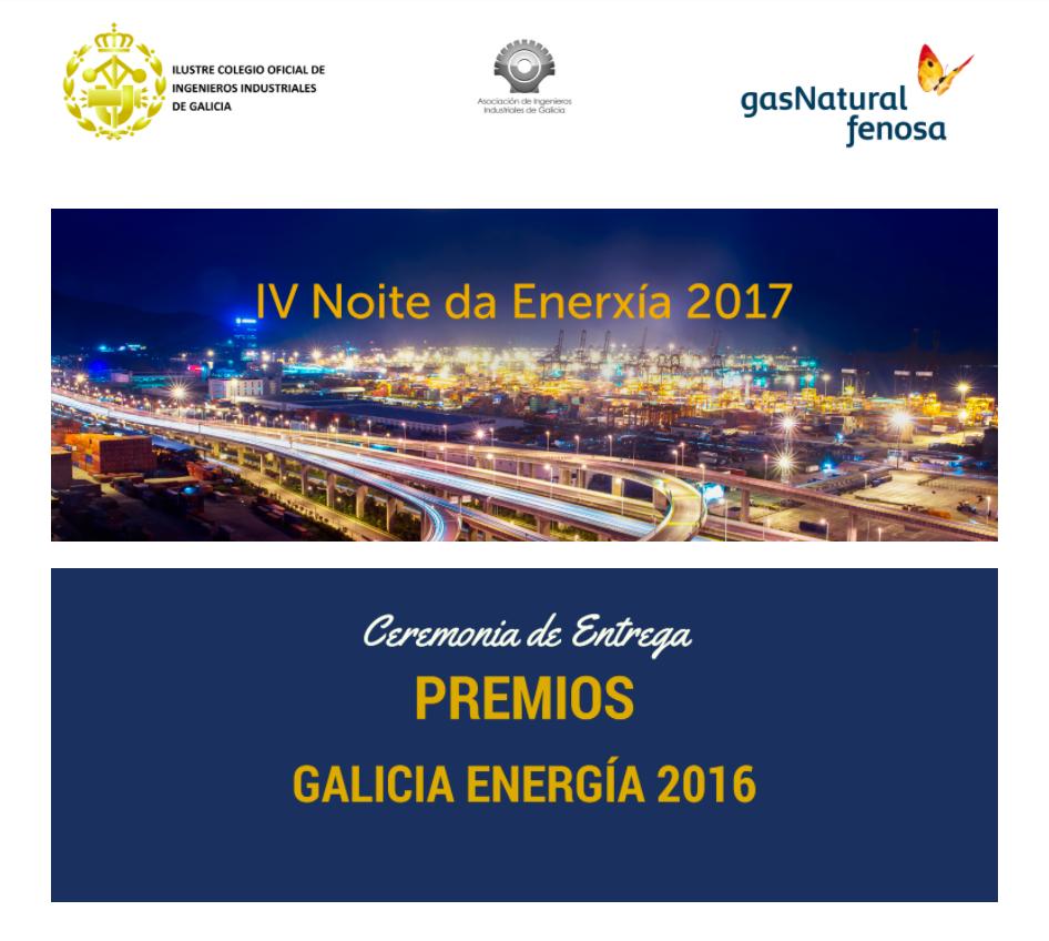 Premio Para Edigal Al Mejor Proyecto Galicia Enerxía 2017.